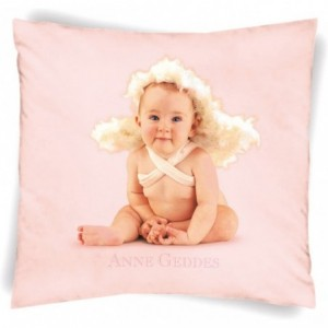 Cuscino Happidea Anne Geddes 40X40 Dis. Baby Angels Var. Rosa