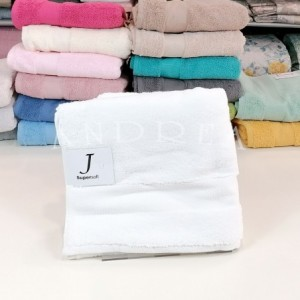 Pair of towels 1+1 jsupersoft WHITE color