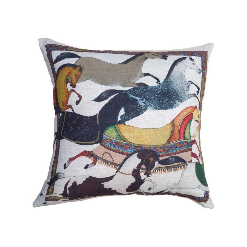 Cushion Square Sultana Linen Linen Cm. 55X 55