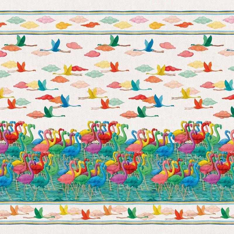 Telo Arredo Copritutto Flamingo Telo Arredo Copritutto...