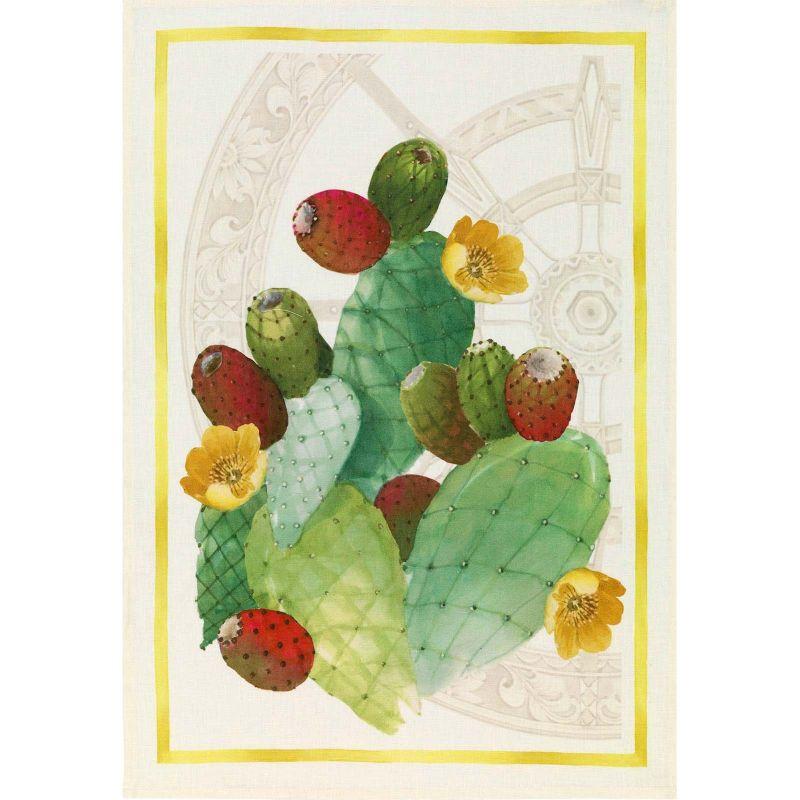 Mediterranean cloth-Fig Flax Cm. 50X 70