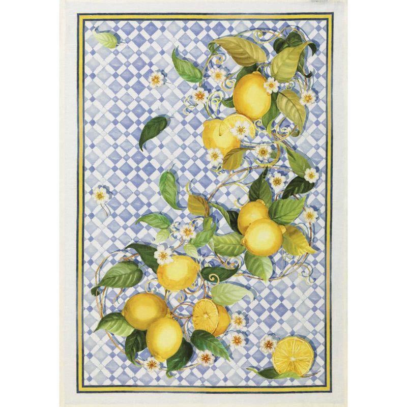 Towel Sevillana Lemons Linen Cm. 50X 70
