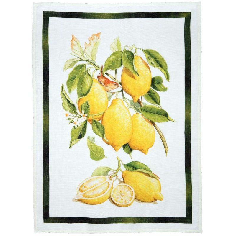 Strofinaccio Limoncello Limone Crema Cm. 50X 70