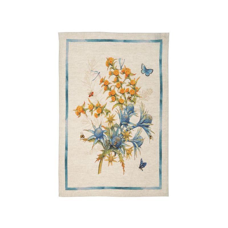 Strofinaccio Cynar-Blu Naturale Cm. 50X 70