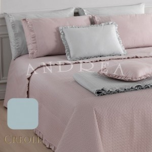 Quilt Quilt Double Bed Creole Galetta Azzurro