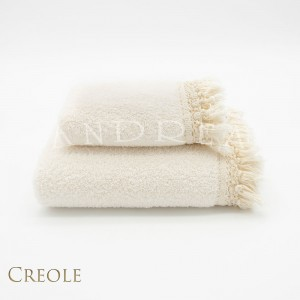 Couple Towels 1+1 Creole Vichy Cream
