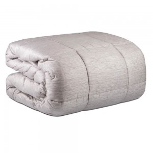 Single bed quilt Dondi Oyster-colored Finiseta