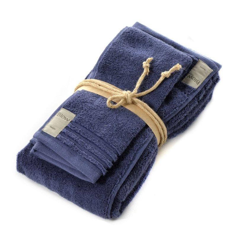 Coppia asciugamani bagno  1+1 Fazzini Coccola - Quetzal