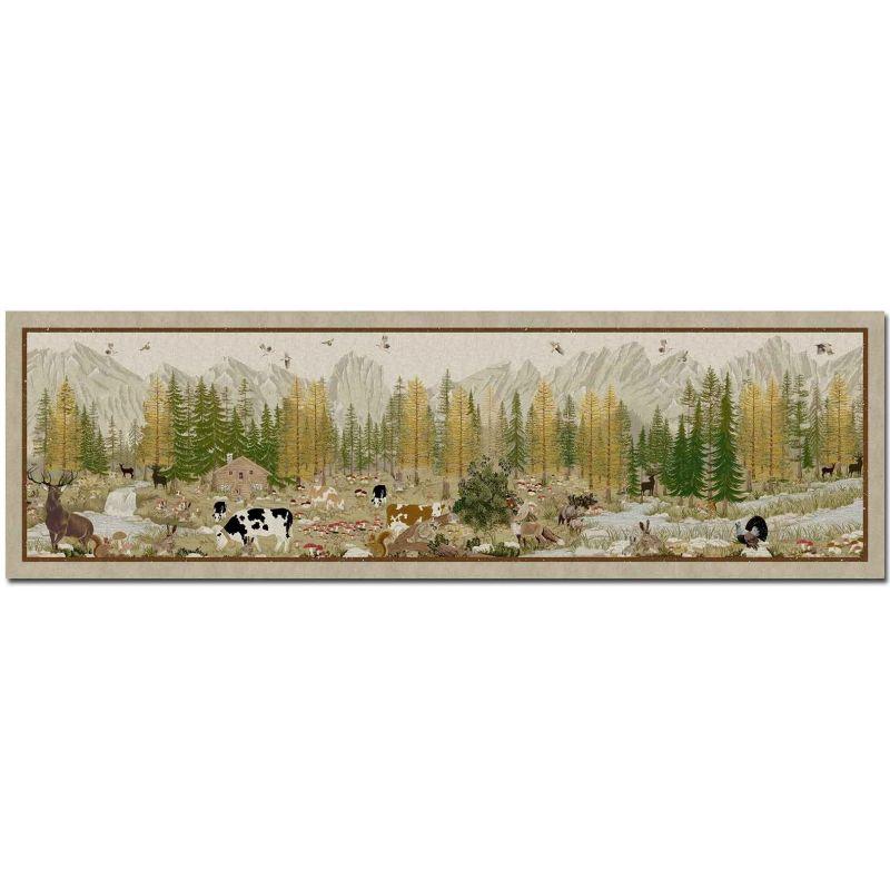Tappetino da cucina Tiptap Walser Verde 52X180 cm
