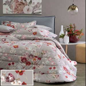 Double Quilt Svad Dondi Tulipani Red color