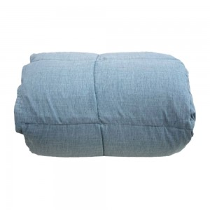 Hammerfest feather quilt intric double bed color Sky