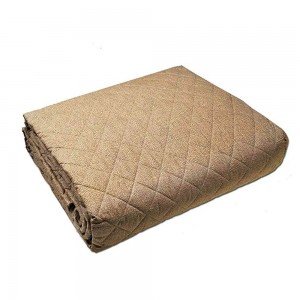 Quilt Double bed Borbonese Opla ' in Brown color