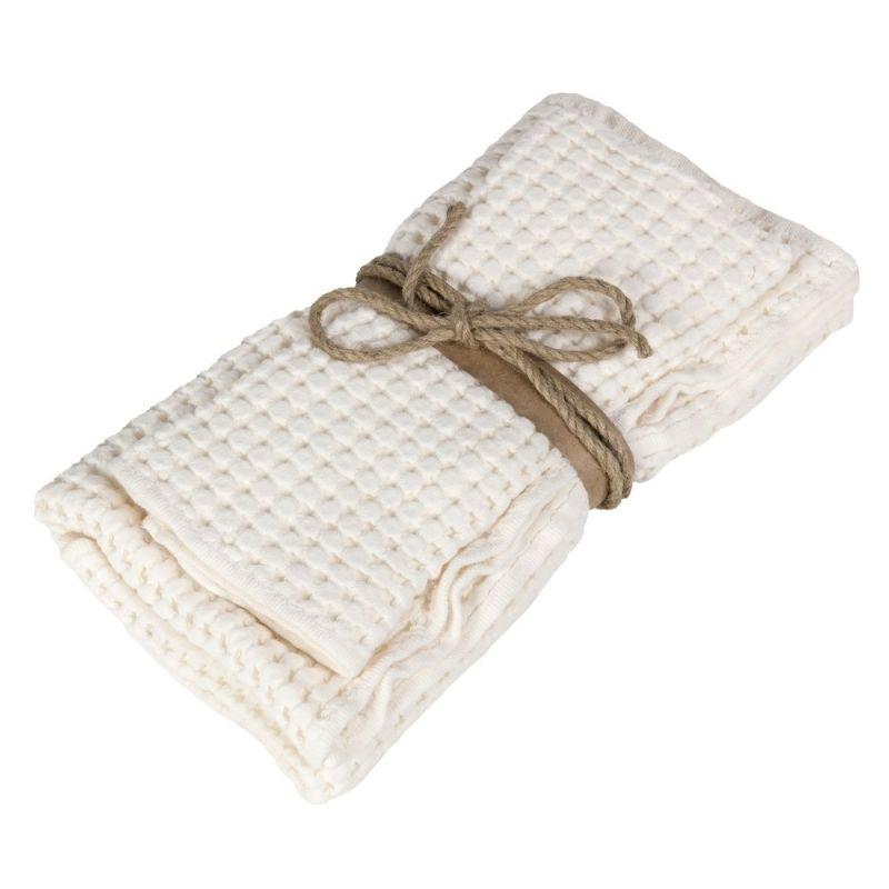 Coppia asciugamani ospite + asciugamano Fazzini Nettare colore Panna