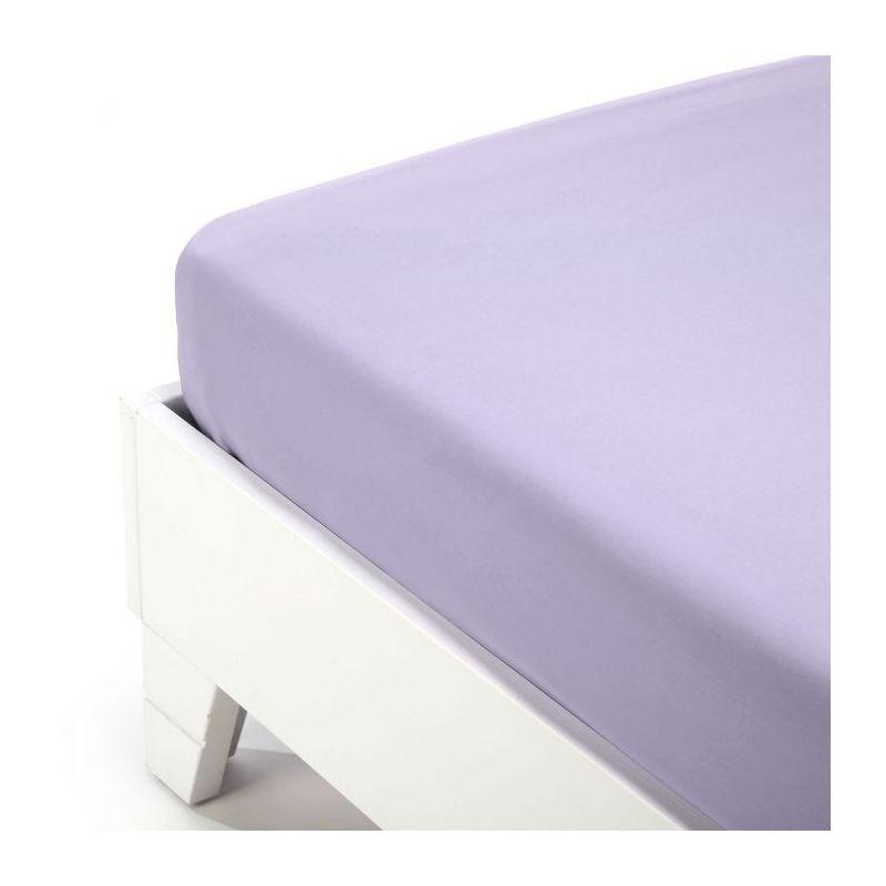 Lenzuolo Sotto Caleffi Jersey 1,5 Pz. Violet