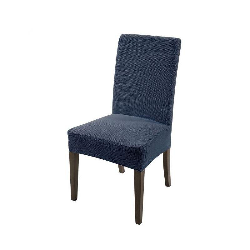 Set 2 Coprisedia Universale Caleffi Melange' colore Blu